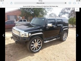 Hummer H3 (2007) 4D Wagon 5 SP Manual (3.7L - Multi Point F/INJ) 5 Seats image 3