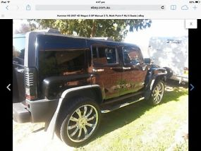 Hummer H3 (2007) 4D Wagon 5 SP Manual (3.7L - Multi Point F/INJ) 5 Seats image 4