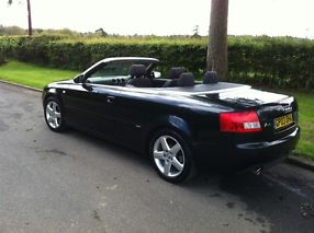 Black Audi,1.8 Convertible,low mileage image 3