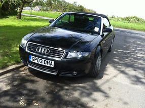 Black Audi,1.8 Convertible,low mileage image 7