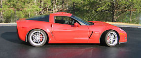 Victory Red 2006 Z06 Corvette image 1