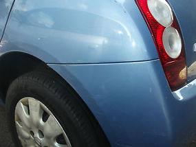 Manual Coral Blue 2005 Nissan Micra, 5 door 1.3 image 3