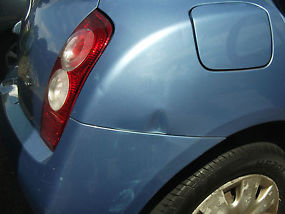 Manual Coral Blue 2005 Nissan Micra, 5 door 1.3 image 4