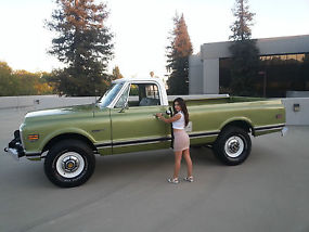 Chevy 3 3 >> 1971 Chevy 3 4 Ton 4 4 Truck In California