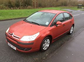 2007 CITROEN C4 COOL RED 1.4 FIVE DOOR LOW LOW MILES 2 KEYS FSH