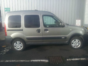 2005 renault kangoo trekka dci 4x4 metallic green. Black Bedroom Furniture Sets. Home Design Ideas