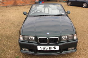 1999 BMW M3 3.2 MANUAL EVOLUTIONCONVERTIBLE BEAUTIFUL EXAMPLE CLASSIC MAY PX image 3