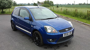 2008 FORD FIESTA ST 150 2.0 HOT HATCH IN PERFORMANCE BLUE