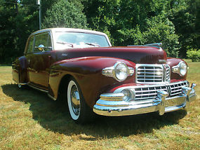 1948 Lincoln Continental Coupe V-12 Stunningly Beautiful
