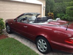1999 Mercedes-Benz CLK320 Base Convertible 2-Door 3.2L image 7