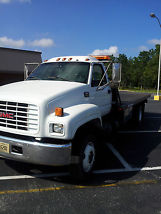 2000 gmc rollback tow truck c 6500 for sale by owner located in pensacola fl. Black Bedroom Furniture Sets. Home Design Ideas