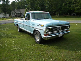 1970 Ford F-100 SPORT CUSTOM,302 AUTOMATIC,AFTERMARKET AIR,SOUTHERN TRUCK,LWB