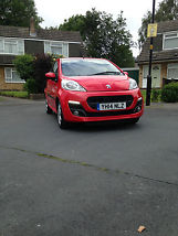 Peugeot 107 Allure new condition low mileage [120 miles]