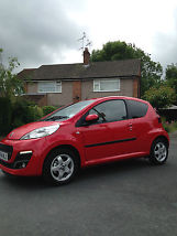 Peugeot 107 Allure new condition low mileage [120 miles] image 1