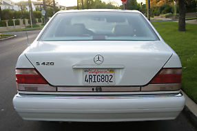 1997 Mercedes S420 Low Miles Well Maintained image 2