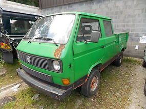 VW T25 SYNCRO Crewcab Doka T3 1.6td1988 Transporter Pick-Up 4x4 diff lock