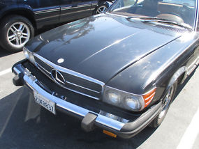 Rare Classic 1979 Mercedes Benz 450SL. Two Tops + Needs Engine! + LOW RESERVE! image 4