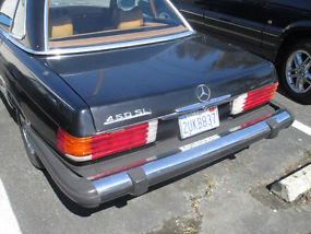 Rare Classic 1979 Mercedes Benz 450SL. Two Tops + Needs Engine! + LOW RESERVE! image 5