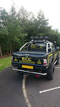 2003 MITSUBISHI L200 WARRIOR LWB BLACK (Low Mileage, Recovery, Off-Road) image 2