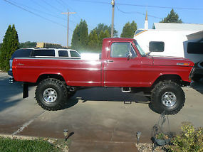 1972 Ford F100 4X4 Truck image 5