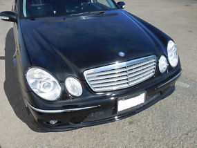 2006 mercedes benz e55 amg 469 horsepower v8 kompressor for Mercedes benz v8 kompressor