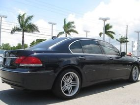 2006 bmw 760li v12 33 000 miles like new extra clean fully. Black Bedroom Furniture Sets. Home Design Ideas