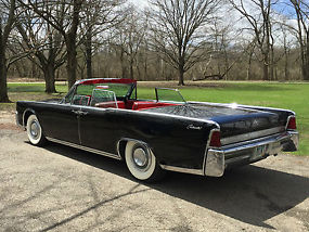 1964 lincoln continental convertible garaged low miles all original. Black Bedroom Furniture Sets. Home Design Ideas