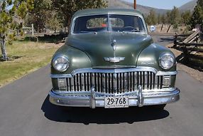 1949 Desoto Custom Sedan ..NICE Original Ready To Cruise... RUSTFREE image 1