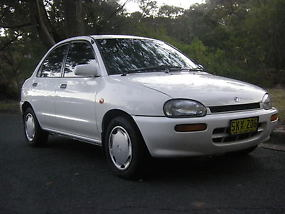 1995 MAZDA 121 BUBBLE 1.5L 5 SPEED MANUAL