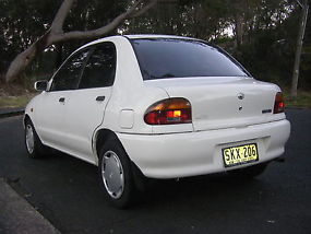 1995 MAZDA 121 BUBBLE 1.5L 5 SPEED MANUAL image 2