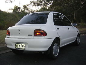 1995 MAZDA 121 BUBBLE 1.5L 5 SPEED MANUAL image 3
