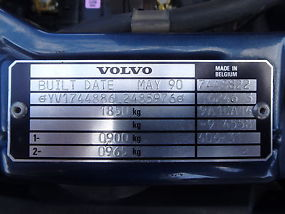 VOLVO 740 GL 1990 ONE OWNER 113K 2 image 7