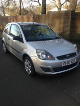 2007 FORD FIESTA STYLE CLIMATE SILVER LOW MILEAGE