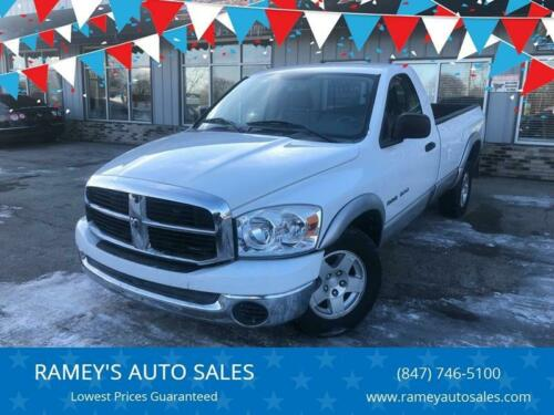 2007  Ram 1500, White with 36070 Miles available now!