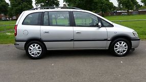 2004 VAUXHALL ZAFIRA DESIGN 7 SEATER TAXED NOVEMBER 2 OWNERS image 1