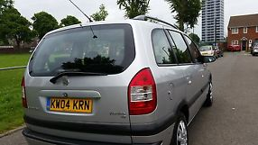 2004 VAUXHALL ZAFIRA DESIGN 7 SEATER TAXED NOVEMBER 2 OWNERS image 2