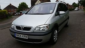 2004 VAUXHALL ZAFIRA DESIGN 7 SEATER TAXED NOVEMBER 2 OWNERS image 3
