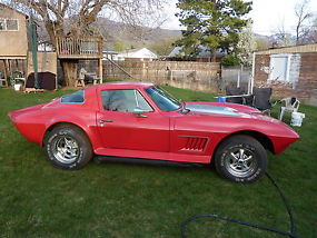 1967 Corvette Custom Coupe Plus 1947 Plymouth coupe thrown in