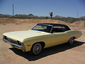 1968 CAPRICE 396 325H.P NUMBERS MATCHING WITH BUILD SHEET, CALIFORNIA BUILT CAR! image 1