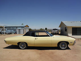 1968 CAPRICE 396 325H.P NUMBERS MATCHING WITH BUILD SHEET, CALIFORNIA BUILT CAR! image 3