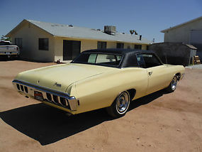 1968 CAPRICE 396 325H.P NUMBERS MATCHING WITH BUILD SHEET, CALIFORNIA BUILT CAR! image 4