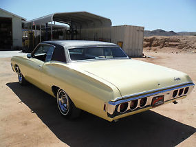 1968 CAPRICE 396 325H.P NUMBERS MATCHING WITH BUILD SHEET, CALIFORNIA BUILT CAR! image 5