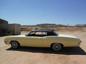 1968 CAPRICE 396 325H.P NUMBERS MATCHING WITH BUILD SHEET, CALIFORNIA BUILT CAR! image 6