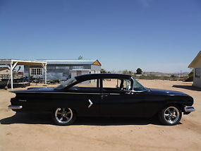 1960 RARE! BISCAYNE 2 DOOR CALIFORNIA CAR ! 350 4 SPEED, MIDNIGHT BLACK !!! image 2