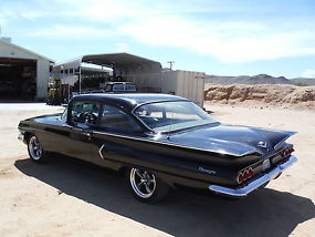 1960 RARE! BISCAYNE 2 DOOR CALIFORNIA CAR ! 350 4 SPEED, MIDNIGHT BLACK !!! image 6