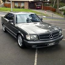MERCEDES BENZ 1988 560SEC 5.6L V8 COUPE ANTHRACITE GREY (W126) 241,000KMS image 1