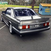 MERCEDES BENZ 1988 560SEC 5.6L V8 COUPE ANTHRACITE GREY (W126) 241,000KMS image 2