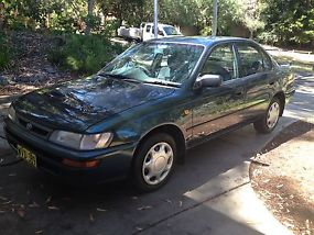 Toyota Corolla Conquest (1997) 4D Sedan 5 SP Manual (1.8L - Electronic F/INJ)