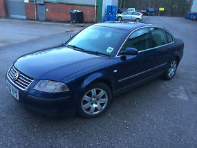52 2002 Vw Passat 1.9 Tdi 130 BHP . 6 Gear !no SWAP  image 1