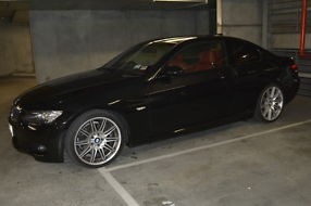 2008 BMW 325d M Sport Coupe Black Sapphire 6sp - All Extras & ONLY 36K Mileage! image 3